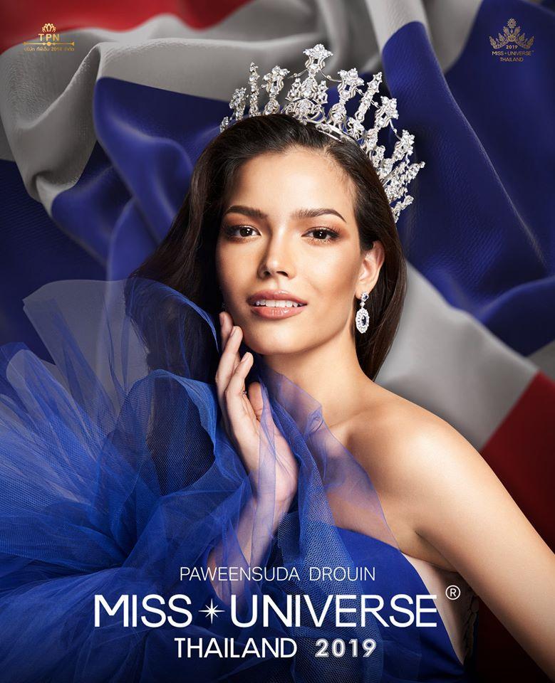 Miss Universe Thailand 2019 ฟ้าใส